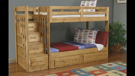 Bunk Beds With Stairs How To Build