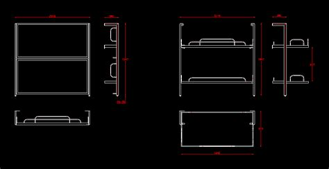 Bunk-Bed-Plan-Cad-Block