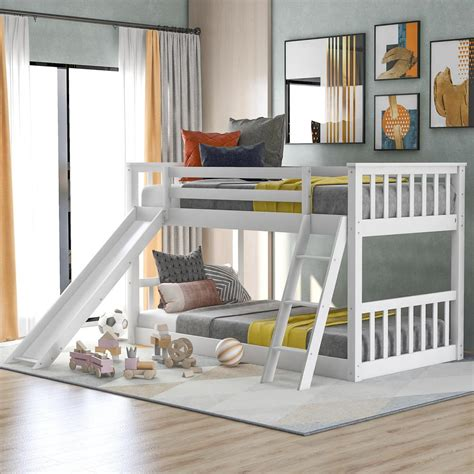 Bunk-Bed-Plans-With-A-Slide