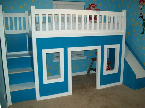 Bunk-Bed-Playhouse-Plans