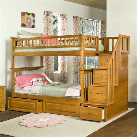 Bunk-Bed-Stairway-Plans