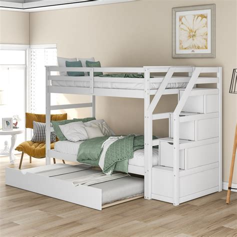 Bunk-Bed-Twin-Twin-With-Stairs-And-Trundle-Plans