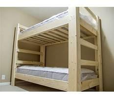 Best Bunk bed building materials