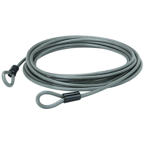 Bunker Hill Security 30 ft. x 3/8' Braided Steel Security Cable