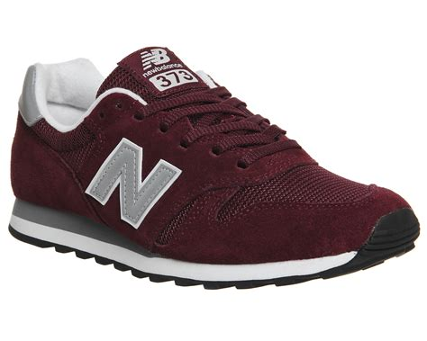 Burgundy New Balance Sneakers