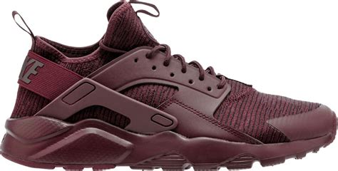 Burgundy Nike Running Sneakers