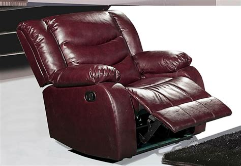 Burgundy Reclining Chairs