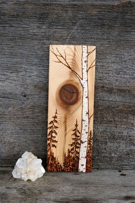 Burning Wood Art Diy