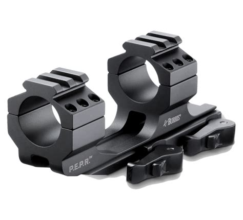 Burris Ar Pepr Tactical Riflescope Rings With Mount And Ar 15 Lower Spring Kit Ebay