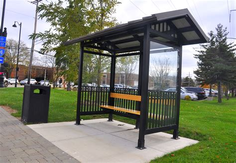 Bus Stop Shelter Plans