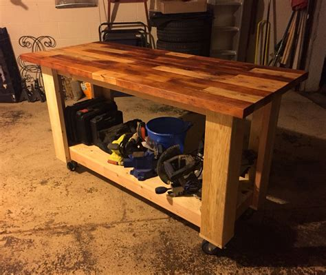 Butcher-Block-Workbench-Plans