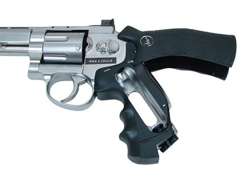 Buy Dan Wesson 6 Quot Co2 Airsoft Revolver Silver .