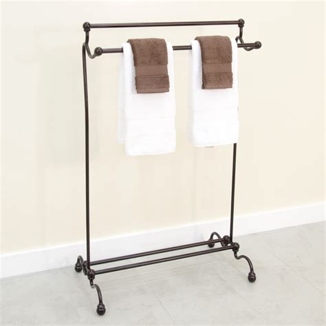 Buy Free Standing Bathroom Towel Holder