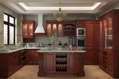 Buy Wood Kitchen Cabinets