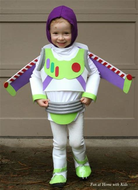 Buzz Lightyear Diy No Sew