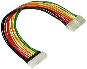 C2G/Cables to Go 22998 ATX 20-Pin Motherboard Power Extension Cable (13 Inch)