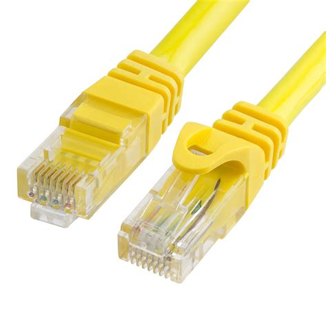 CAT 6 500MHz UTP 100FT Cable - Yellow