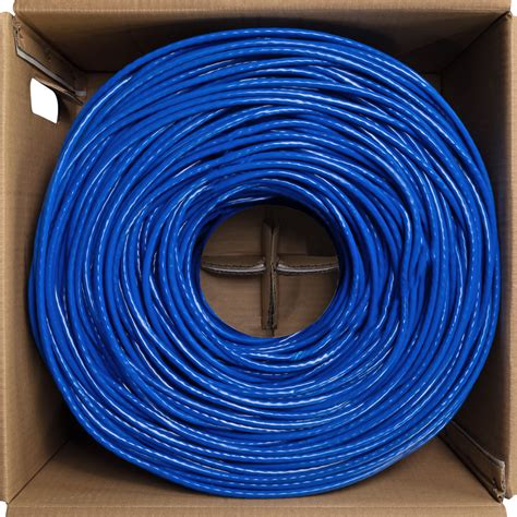 CAT6 1000FT UTP Solid LAN Network Ethernet Cable Bulk Wire 23 AWG 550MHz White