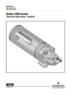 [pdf] Cbb-Series Technical Data Sheet - Imperial - Emerson Com.