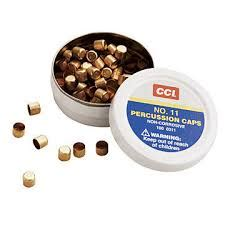 Cci Muzzleloader Percussion Caps  Musket Caps 100 Packs .