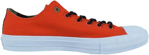 CHUCK TAYLOR ALL-STAR II SHIELD CANVAS OXFORDS SIGNAL RED GREEN 153539C