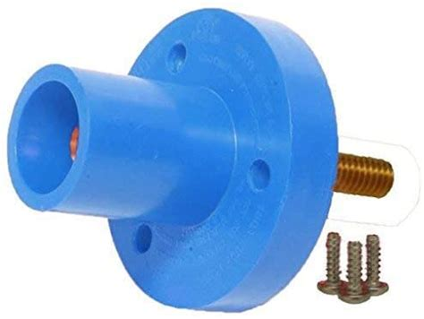 CLSM Series Panel Mount (150A / 600V) 3/4' - 8 Threaded Stud; Female - Blue (D) MASTER/50