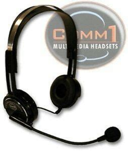 COMM1 Multimedia Headset with Boom Microphone