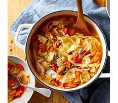 Best Cabbbage soup diet recipe
