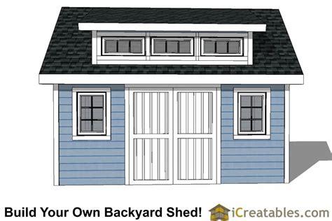 Cabin-With-Loft-Shed-Dormer-Plan