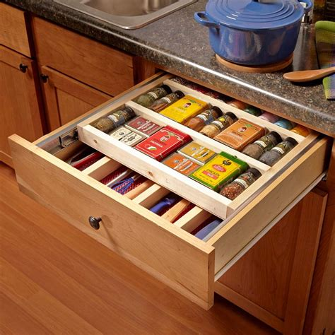 Cabinet Door Storage Diy Kitchen