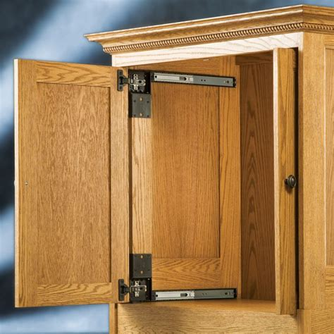 Cabinet Doors That Open And Slide Back