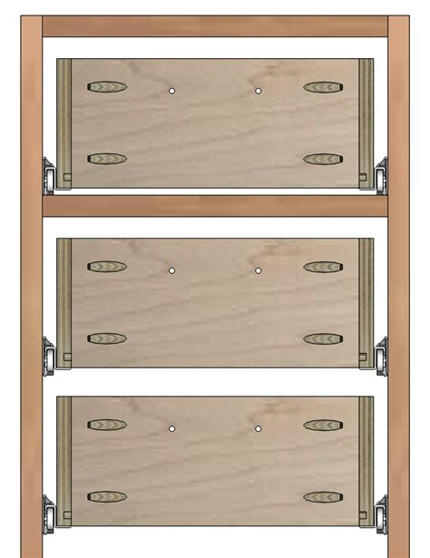 Cabinet Drawer Construction Plans