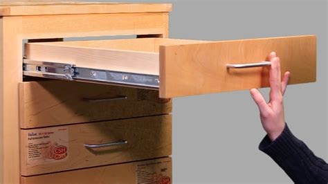 Cabinet Drawer Glides How To Install