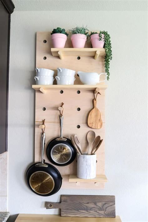 Cabinet Pot Rack Diy Christmas