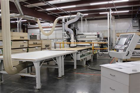 Cabinet Shop Layout With Cnc Machine