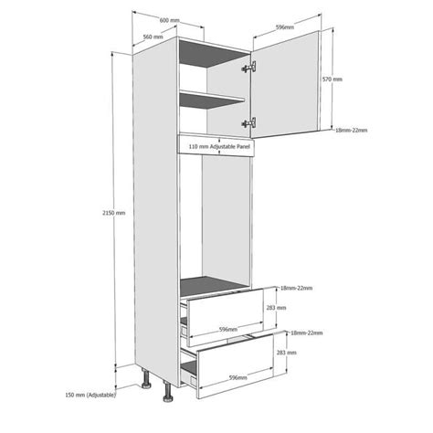 Cabinet Standards For Double Oven