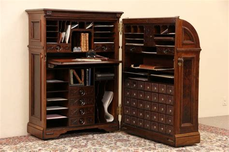 Cabinet With Desk Inside Cabinet
