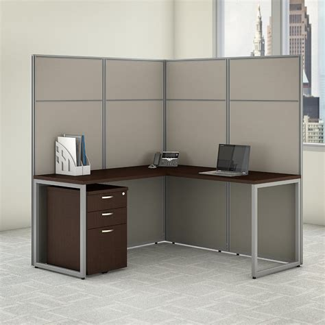 Cabinet With Desk Inside Cubicle