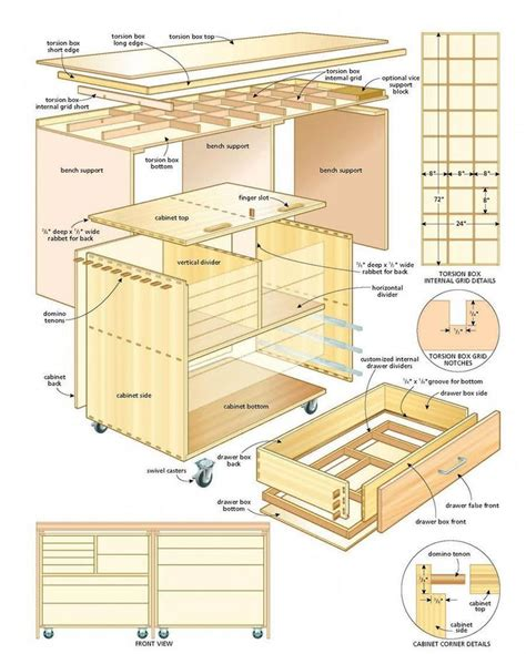 Cabinet-Bed-Woodworking-Plans