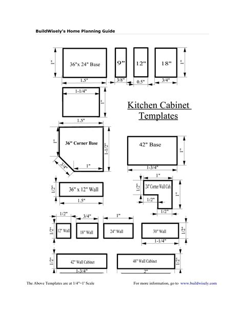 Cabinet-Templates-Free