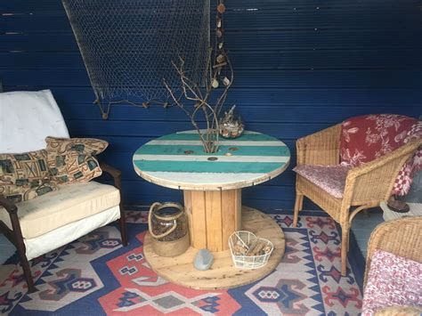 Cable Reel Table Diy Chalk