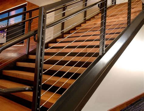 Cable Stair Railing Pictures