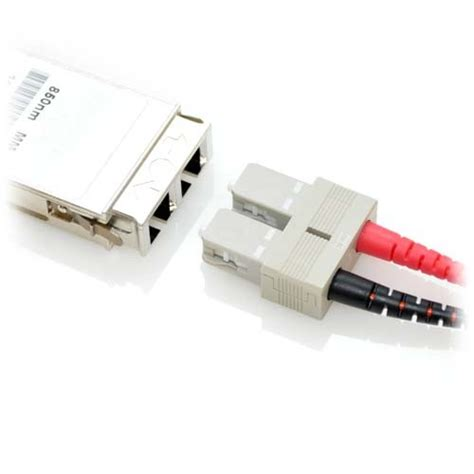 CableRack XBR-000025 Brocade Compatible 1000BASE-SX GBIC Module For Multimode Fiber