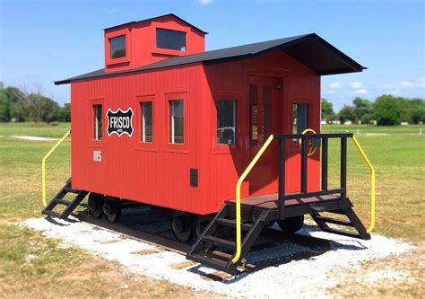 Caboose Playhouse Plans