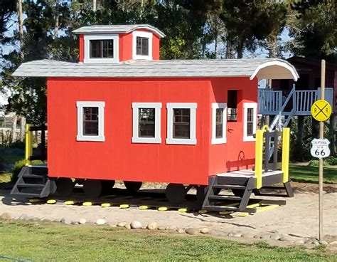 Caboose Playhouse Plans Free