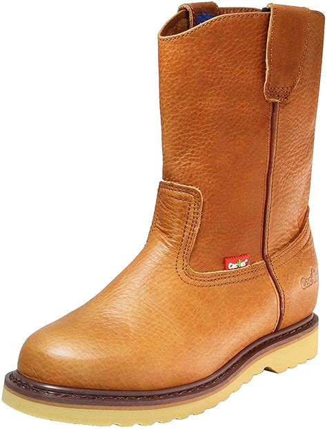 Cactus Men's 10' '1022' Oil-Tumbled Leather Wellington Boots