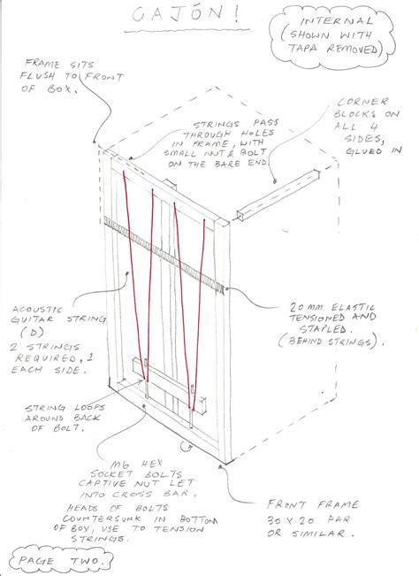Cajon-Diy-Plans