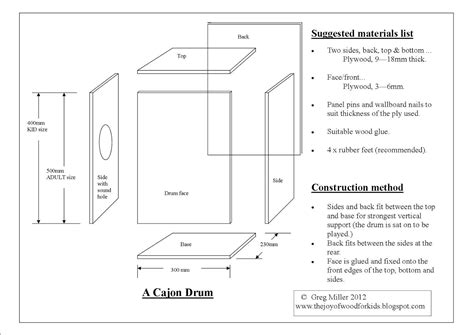 Cajon-Drum-Box-Plans-Pdf