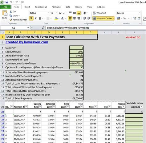 Calculate Loan Payback