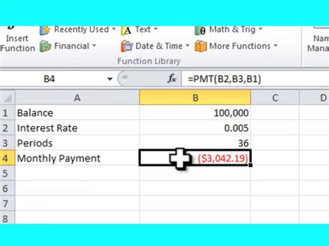 Calculate Payment In Excel